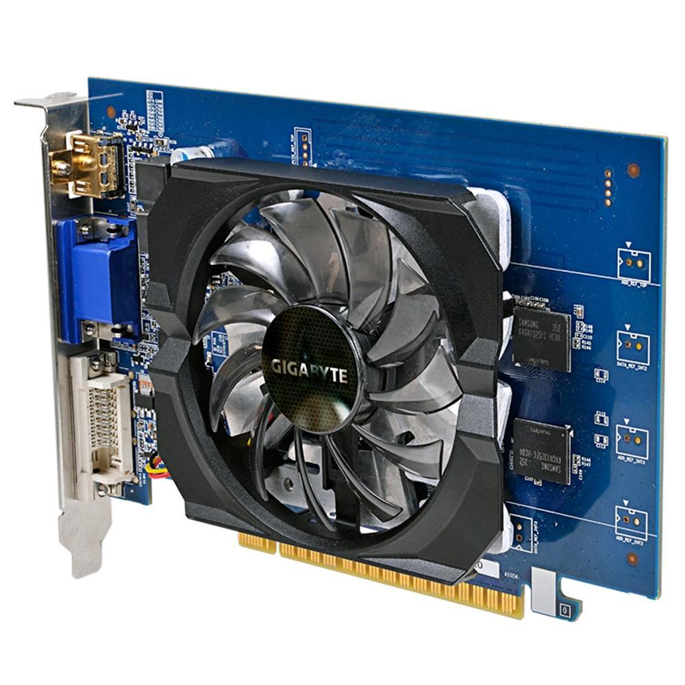 Placa de Vídeo Geforce GT 730 2GB GDDR5 GV-N730D5-2GI - Gigabyte