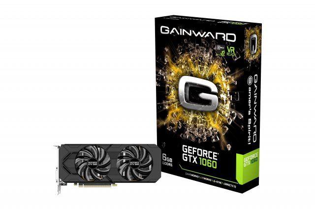 Placa de Vídeo GeForce GTX1060 6GB GDDR5 192Bits NE51060015J9-1061D - Gainward