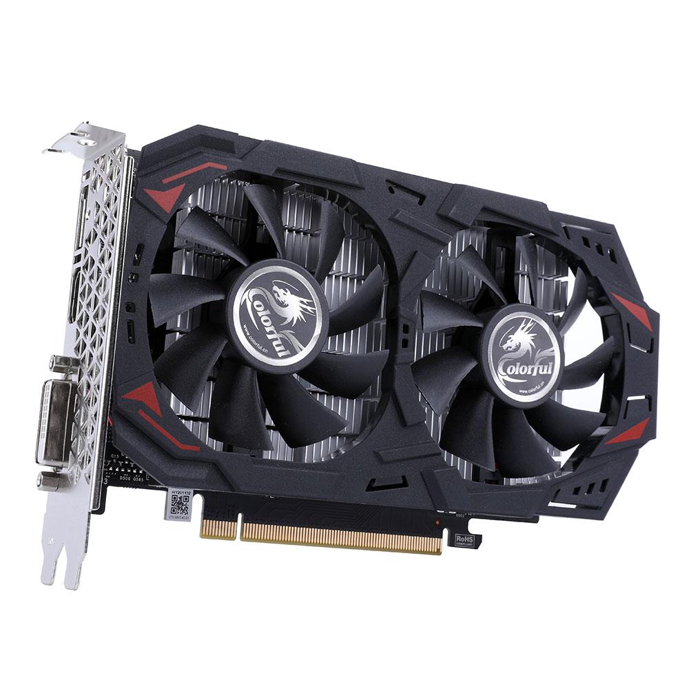 Placa de Vídeo Geforce GTX 1050 Ti 4GB GDDR5 G-C1050Ti 4G-V - Colorful
