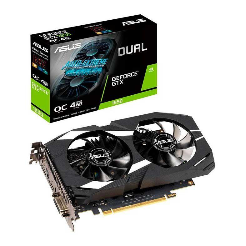 Placa de Vídeo Geforce GTX 1650 4GB GDDR5 Dual OC 128Bits DUAL-GTX1650-O4G - Asus