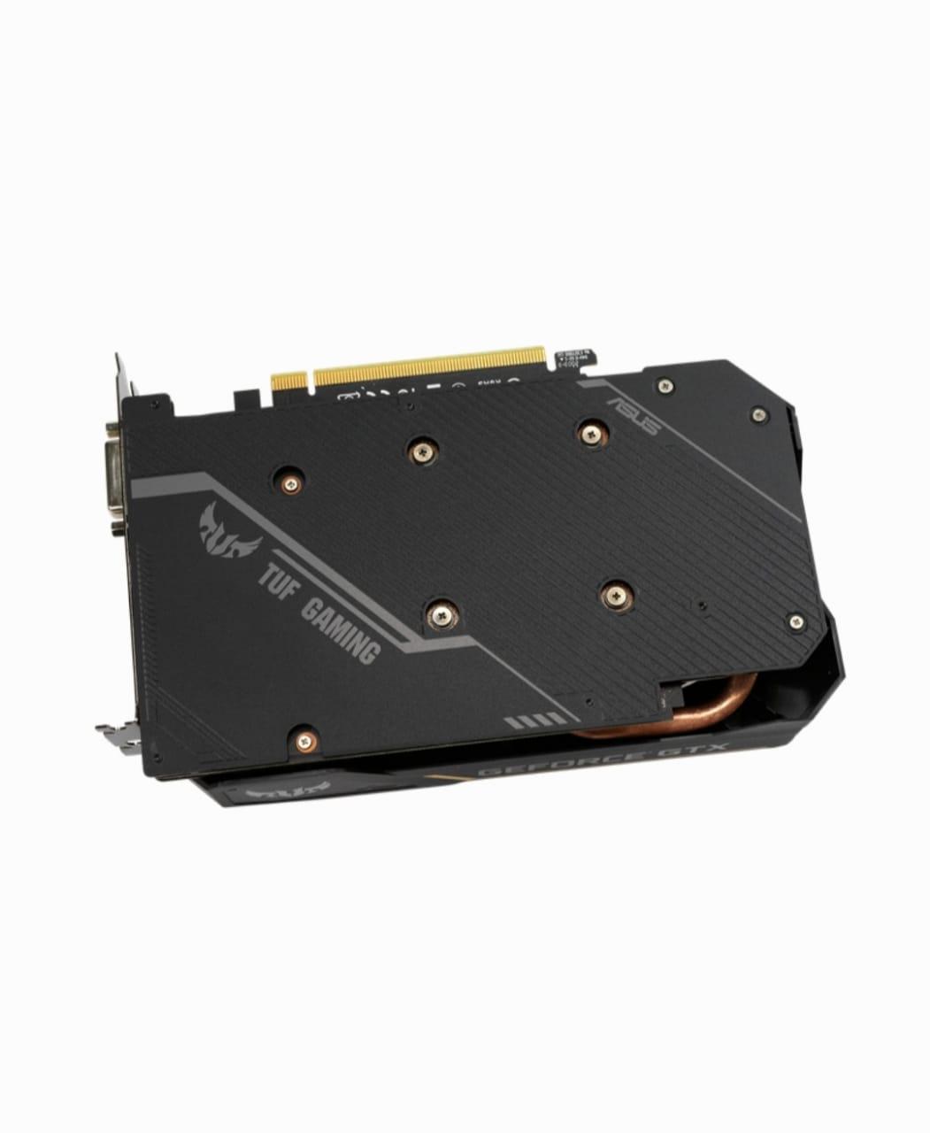 PLACA DE VÍDEO GEFORCE GTX 1650 4GB GDDR6 TUF-GTX1650-O4GD6-GAMING - ASUS