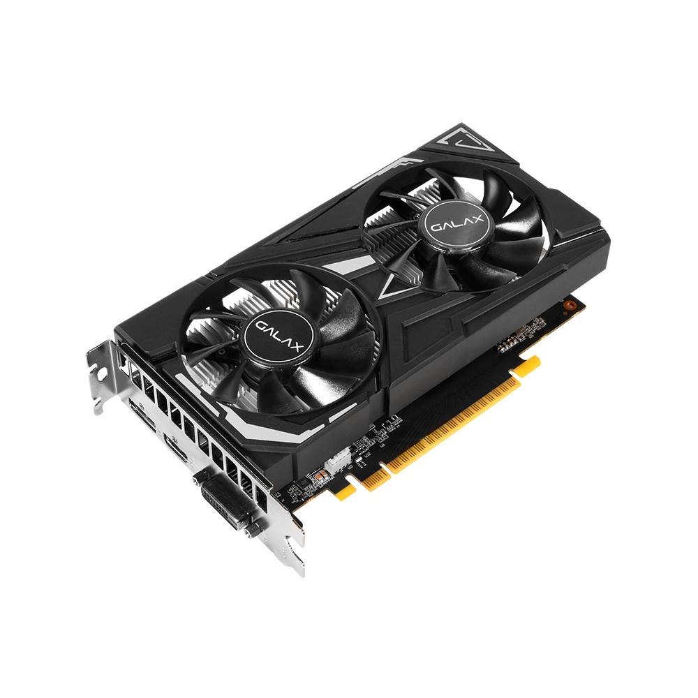 Placa de Vídeo Geforce GTX 1650 EX 1-Click 4GB GDDR6 65SQL8DS66E6 - Galax