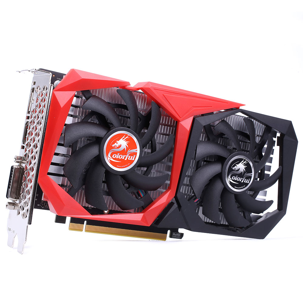 Placa de Vídeo Geforce GTX 1650 NB 4GB GDDR5 G-C1650 NB 4G-V - Colorful
