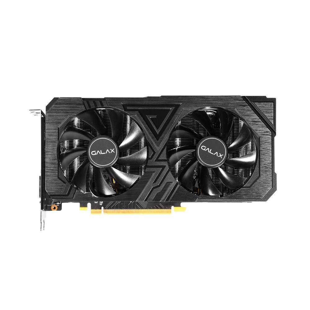Placa de Vídeo GeForce RTX 2060 6GB GDDR6 192 Bits 1 Click OC Dual Fan 26NRL7HPX7OC - Galax