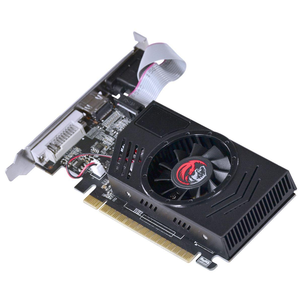 Placa de Vídeo GT730 2GB DDR3 128Bits PJ73012802D3LP - Pcyes