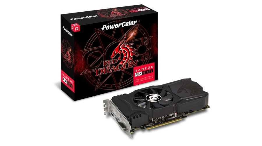 Placa de Vídeo Radeon RX550 4GB GDDR5 128Bits AXRX 550 4GBD5-DHA - Power Color