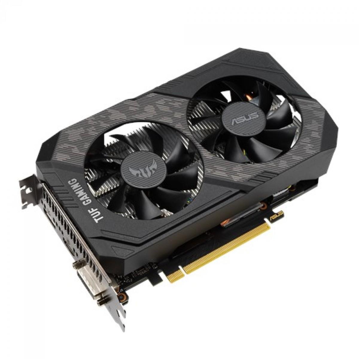 Placa de Vídeo TUF Geforce GTX 1660 Super OC Edition 192Bits TUF-GTX1660S-O6G-GAMING - Asus
