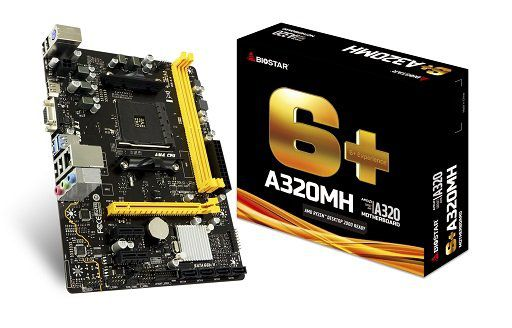 Placa Mãe AM4 A320MH HDMI/VGA DDR4 USB 3.1 - Biostar