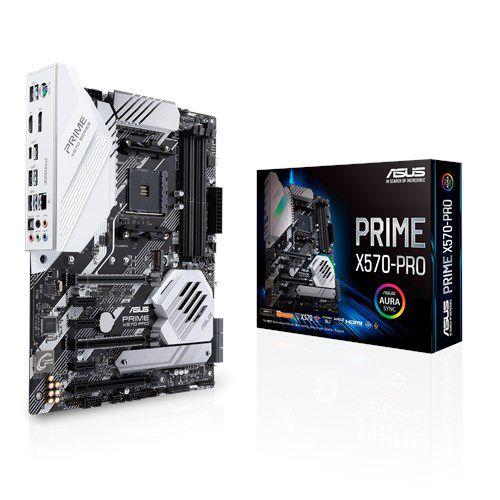Placa Mãe AM4 PRIME X570-PRO DDR4 USB 3.2 M.2 Aura Sync - Asus