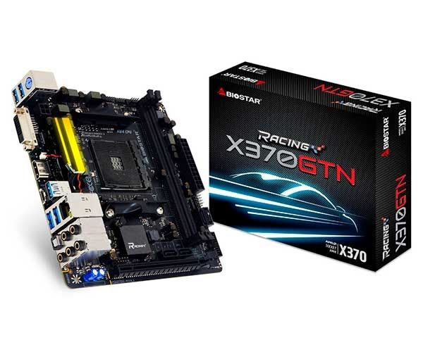 Placa Mãe AM4 X370GTN Racing DDR4 X370 - Biostar