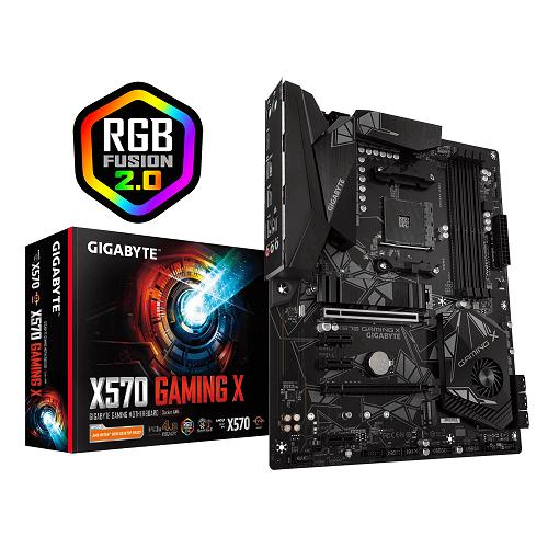 Placa Mãe AM4 X570 Gaming X DDR4 PCIe 4.0 USB 3.2 M.2 - Gigabyte