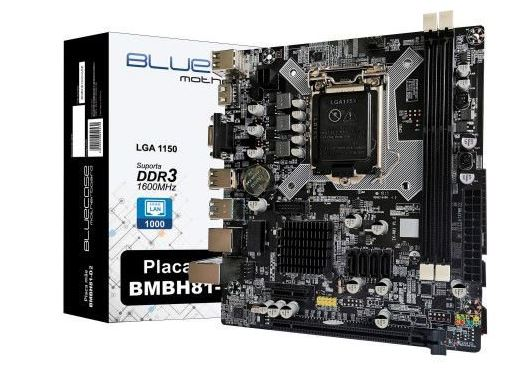 Placa Mãe LGA 1150 BMBH81-T - Bluecase