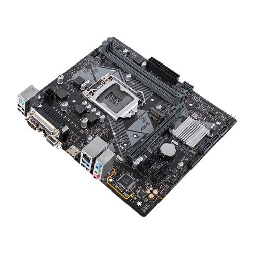 Placa Mãe LGA 1151 8ª Geração H310M-D Iluminação LED, DDR4, M.2, HDMI, USB 3.1 - Asus