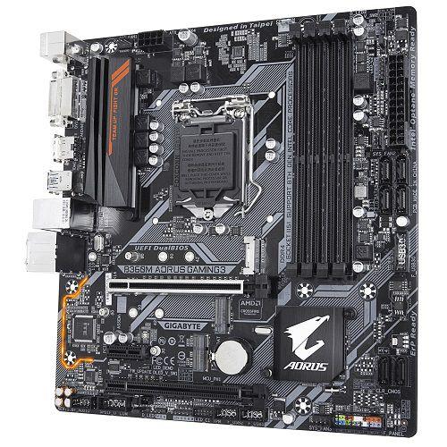 Placa Mãe LGA 1151 B360M Aorus Gaming 3 DDR4 USB 3.1 M.2 - Gigabyte
