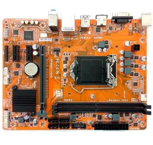 Placa Mãe LGA 1151 DDR4  IPMH110G (S/V/R) - Pcware