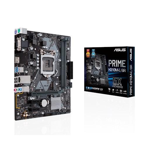 Placa Mãe LGA 1151 Prime H310M-E/BR DDR4 - Asus