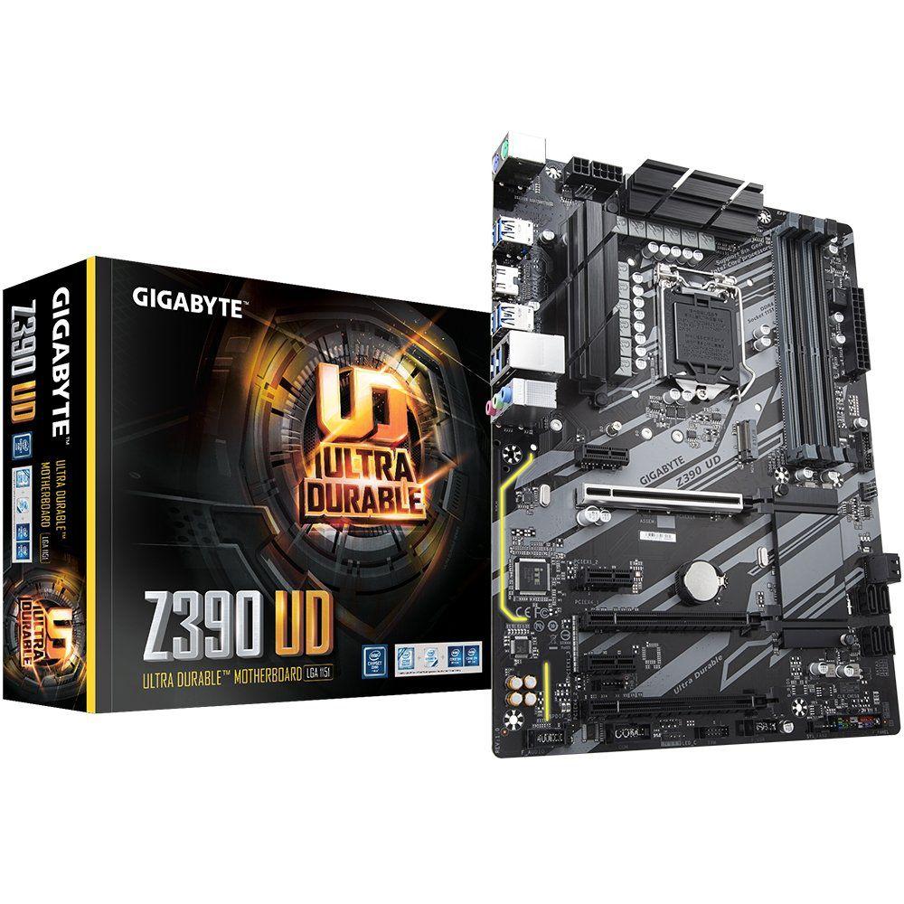 Placa Mãe LGA 1151 Z390 UD DDR4 HDMI - Gigabyte