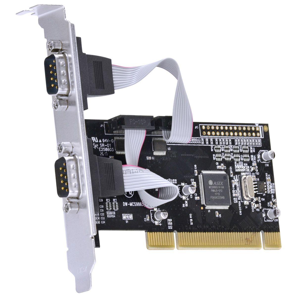 Placa Serial 2 saídas + 1 Saída paralela PCI P2IE1PR-PCI 30079 - Vinik