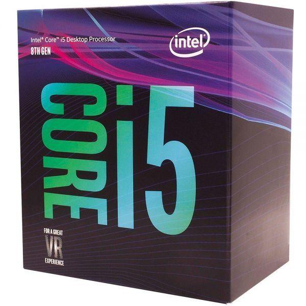 Processador 8ª Geração LGA 1151 Core i5 8600 3,1Ghz 9MB Coffee Lake BX80684I58600 - Intel