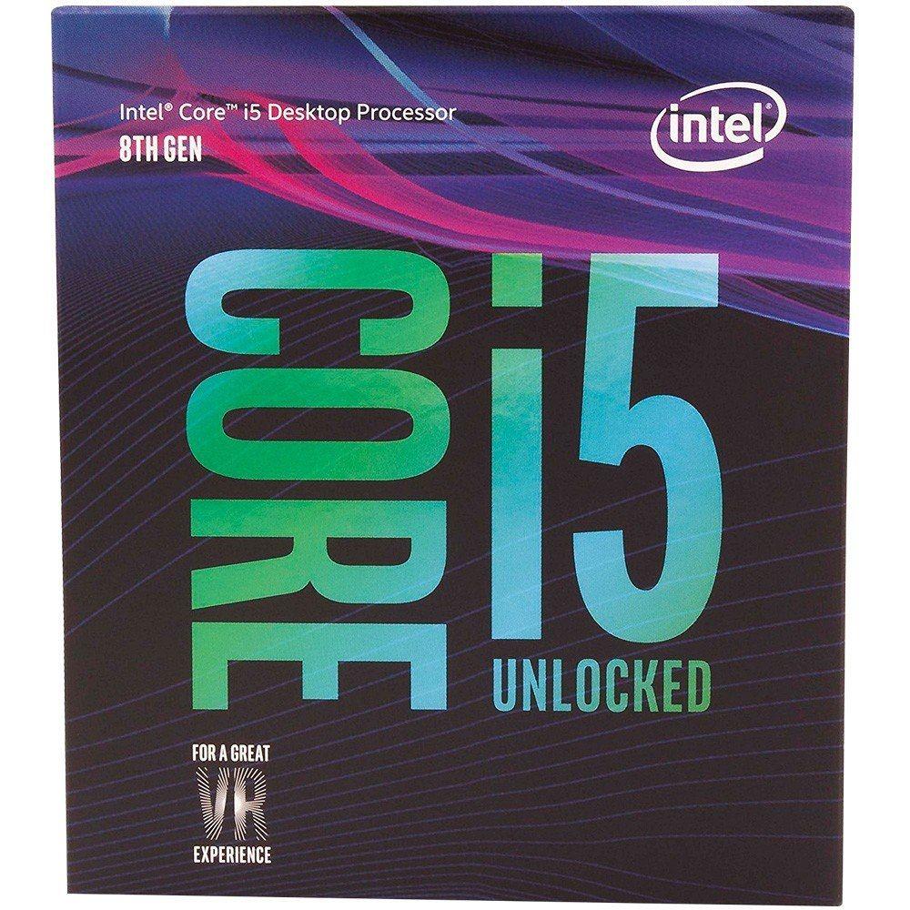 Processador 8ª Geração LGA 1151 Core i5 8600K 4,3Ghz 9MB Coffee Lake (Sem Cooler) BX80684I58600K - Intel