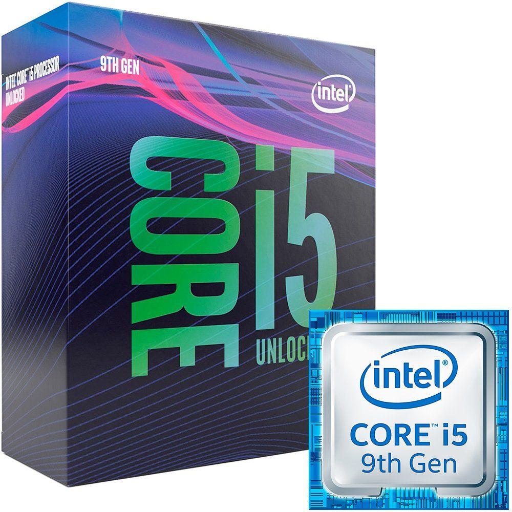 Processador 9ª Geração LGA 1151 Core I5-9600K 9MB, 3.70GHZ (4.60GHZ Turbo) Cofee Lake BX80684I59600K - INTEL