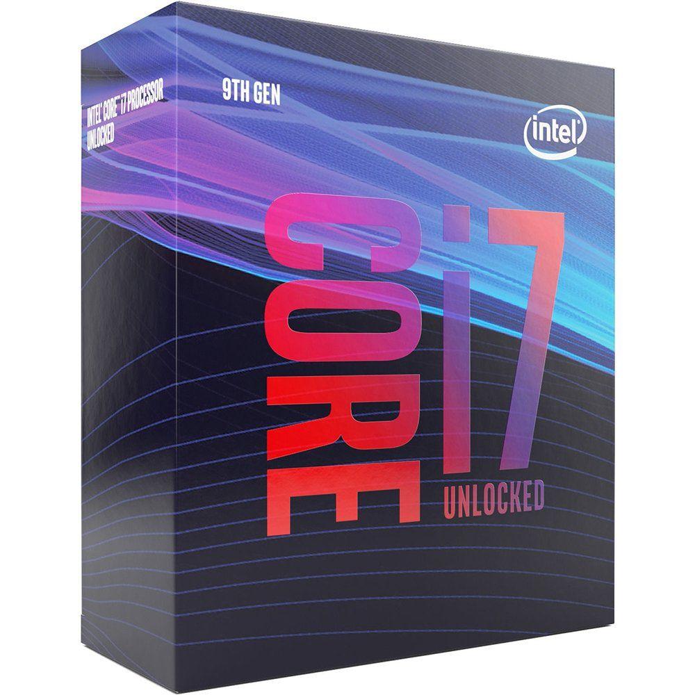 Processador 9ª Geração LGA 1151 Core i7 9700K 3.6GHz (4.9GHz Turbo) 12MB Coffee Lake Refresh BX80684I79700K - Intel