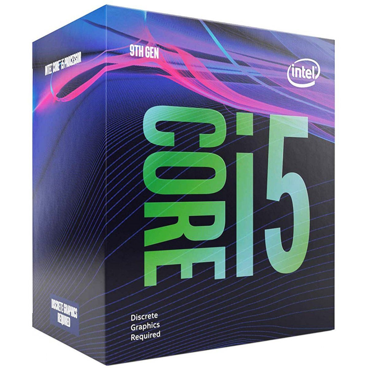 Processador 9ª Geração LGA 1151 i5 9400F 9MB 2.9Ghz 2.9GHz (4.1GHz Turbo) (Sem Video Integrado) BX80684I59400F Box - Intel