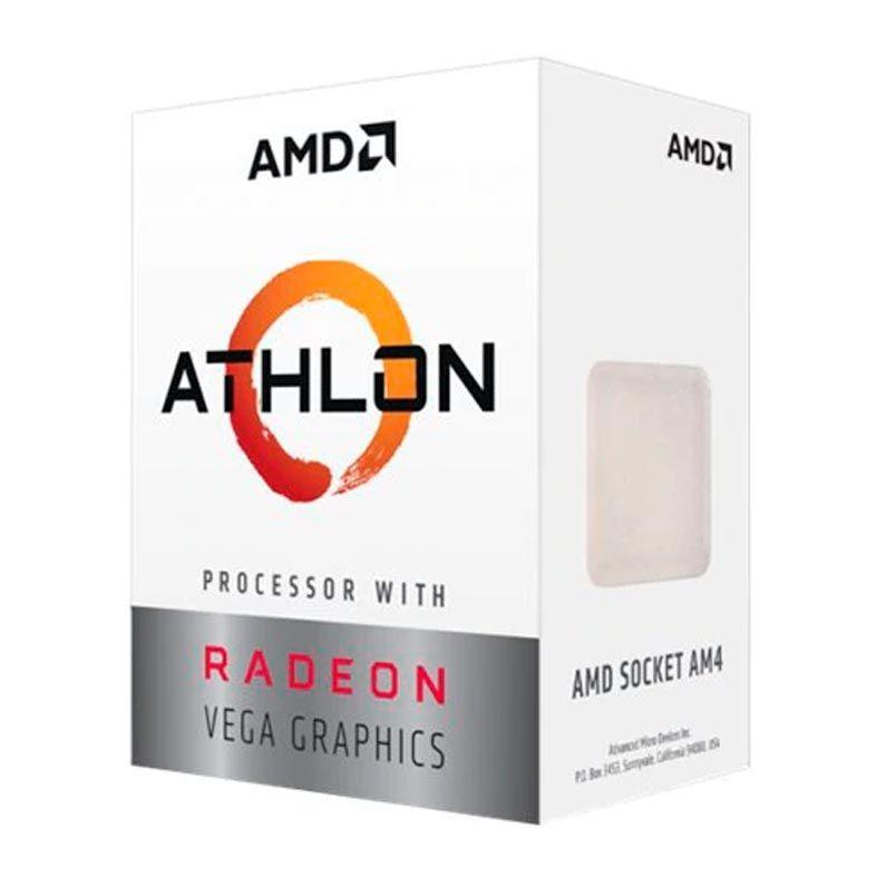 Processador AM4 Athlon 220GE Dual Core 3.4Ghz 5MB YD220GC6FBBOX - AMD