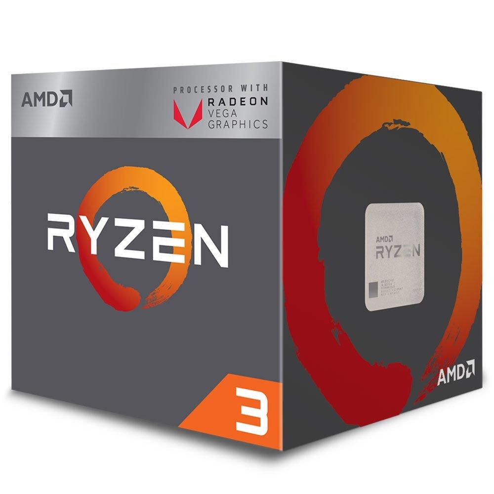 Processador AM4 Ryzen 3 2200G c/ Wraith Stealth Cooler, Quad Core, Cache 6MB, 3.5GHz, Radeon VEGA, YD2200C5FBBOX - AMD