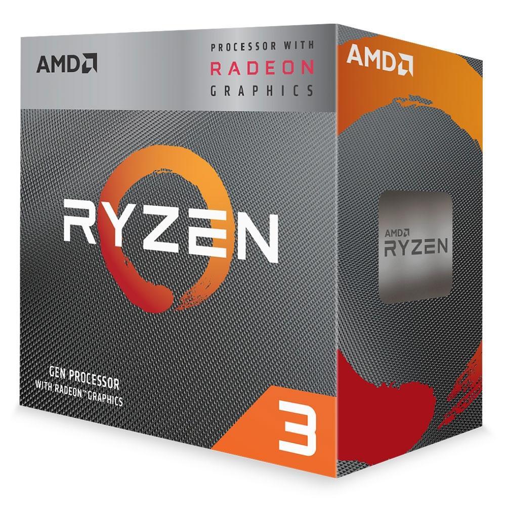 Processador AM4 Ryzen 3 3200G, Cache 4MB, 3.6Ghz (4Ghz Max Turbo) YD3200C5FHBOX - AMD