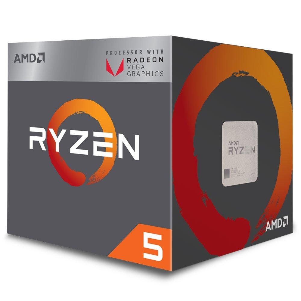 Processador AM4 Ryzen 5 2400G c/ Wraith Stealth Cooler, Quad Core, Cache 6MB, 3.6GHz, Radeon VEGA YD2400C5FBBOX - AMD