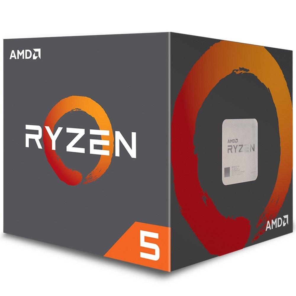 Processador AM4 Ryzen 5 2600X c/ Wraith Spire Cooler, Six Core, Cache 19MB, 3.6GHz YD260XBCAFBOX - AMD