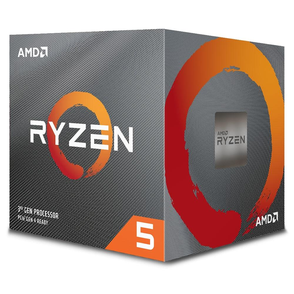 Processador AM4 Ryzen 5 3600X 3.8GHz (4.4GHz Max Turbo) Cache 35MB 100-100000022BOX - AMD