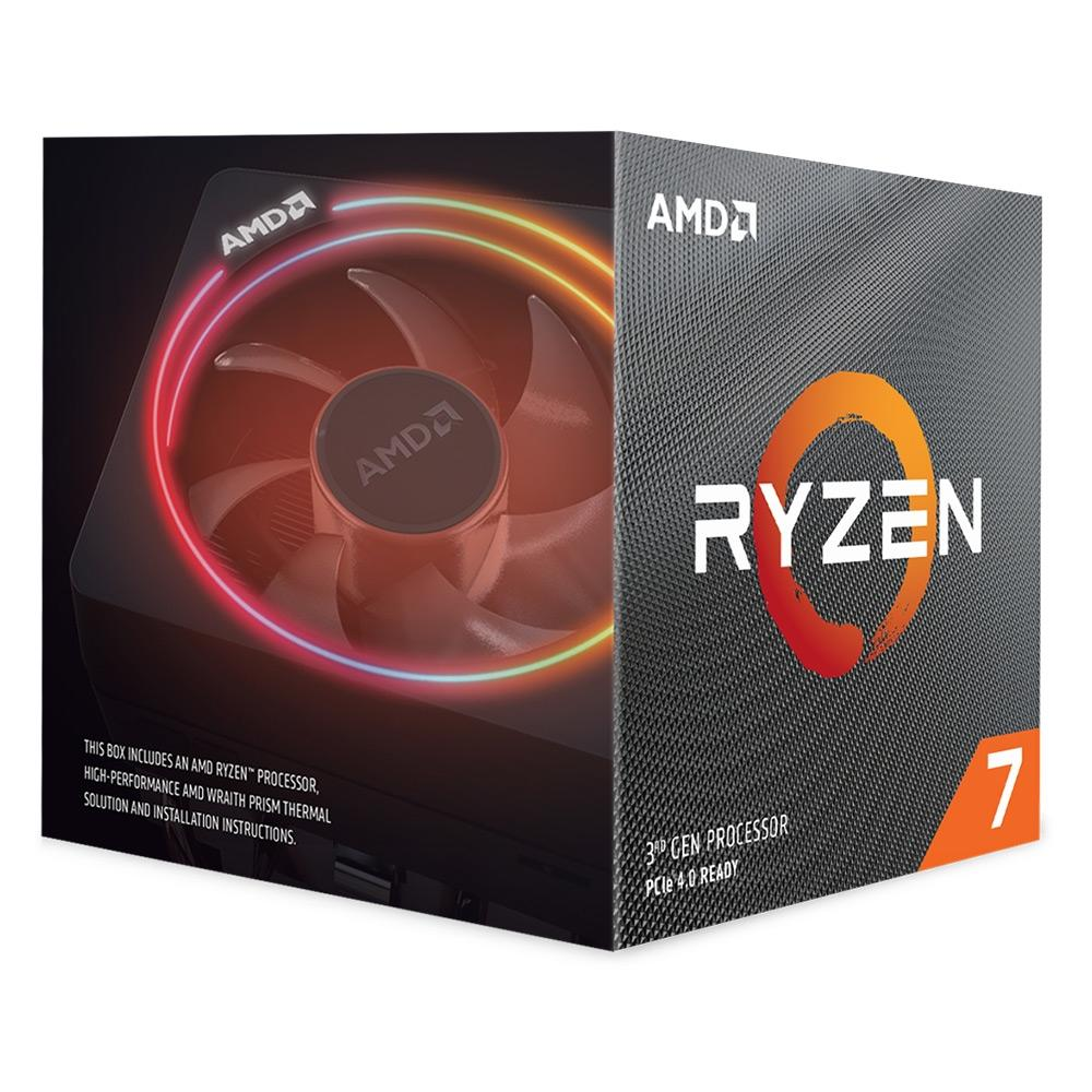 Processador AM4 Ryzen 7 3700X 3.6GHz (4.4GHz Max Turbo) 32MB 100-100000071BOX - AMD