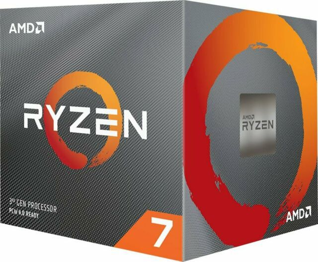 Processador AM4 Ryzen 7 3800X 3.9Ghz (4.5Ghz Max Boost) Cache 36MB 100-100000025BOX - AMD