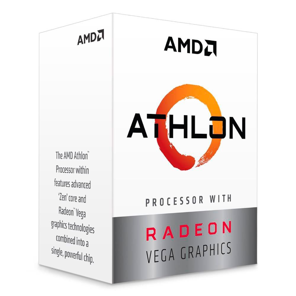 Processador Athlon 200GE Dual Core 3.2 GHz 5MB Cache AM4 YD200GC6FBBOX - AMD
