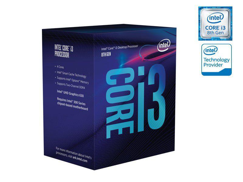 Processador Core i3 LGA 1151 8300 3.70Ghz 8MB Cachê BX80684I38300 BOX - Intel