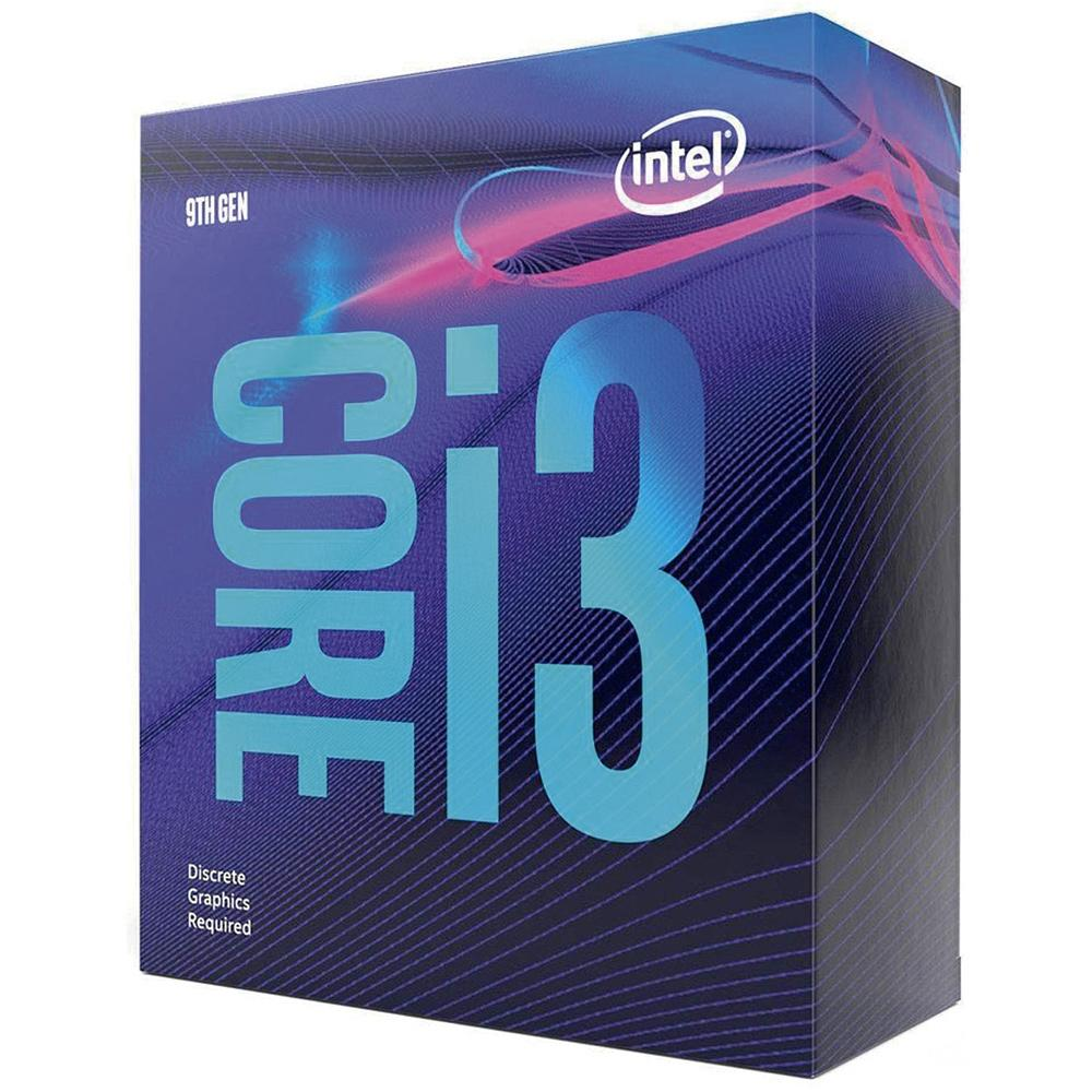 Processador LGA 1151 Core i3 9100F 6MB 3.6GHz (4.2GHz Max Turbo) BX80684I39100F (Sem Vídeo Integrado) - Intel