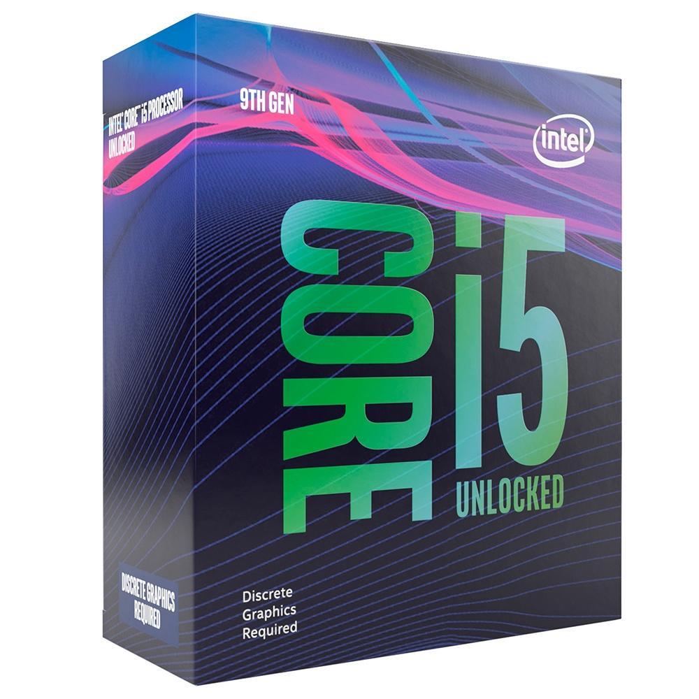 Processador LGA 1151 Core i5 9600KF 3.7GHz (4.6GHz Max Turbo) Cache 9MB (Sem Vídeo) BX80684I59600KF - Intel