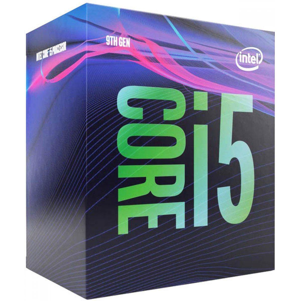 Processador LGA 1151 i5 9400 2.90Ghz 9MB BX80684i59400 BOX (Video Integrado)- Intel