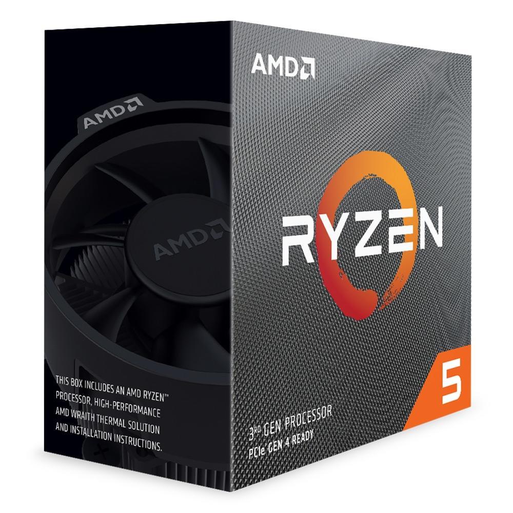 Processador Ryzen 5 3600 Cache 32MB 3.6GHz(4.2GHz Max Turbo) AM4  100-100000031BOX - AMD