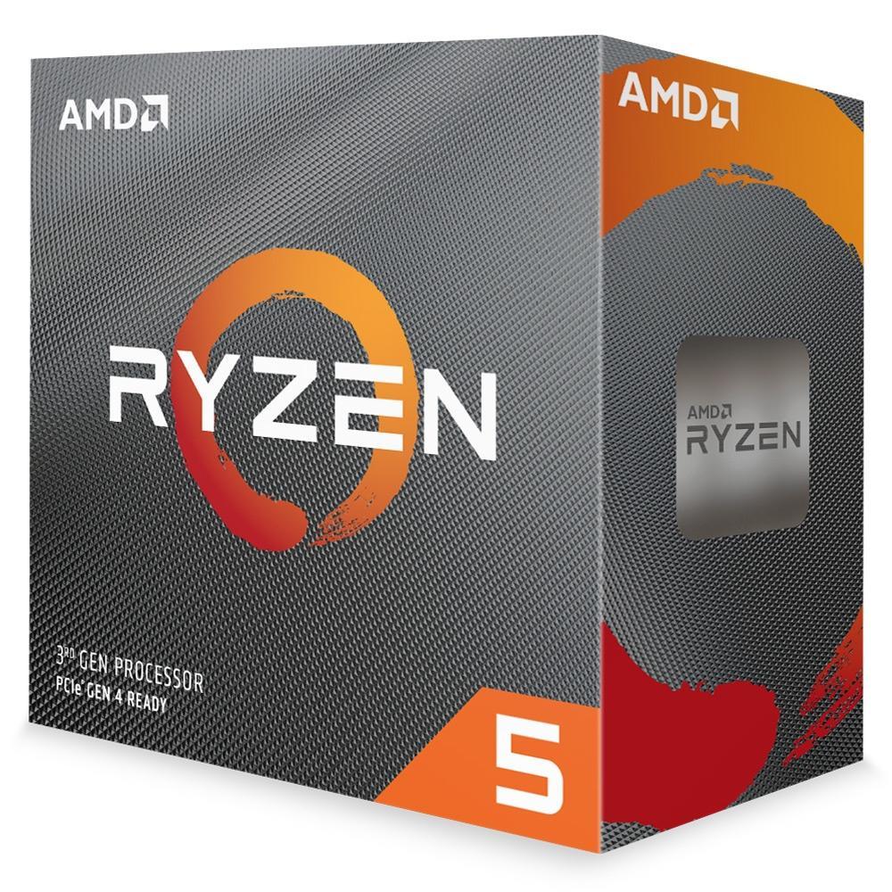 Processador AM4 Ryzen 5 3600 Cache 32MB 3.6GHz (4.2GHz Max Turbo) 100-100000031BOX - AMD