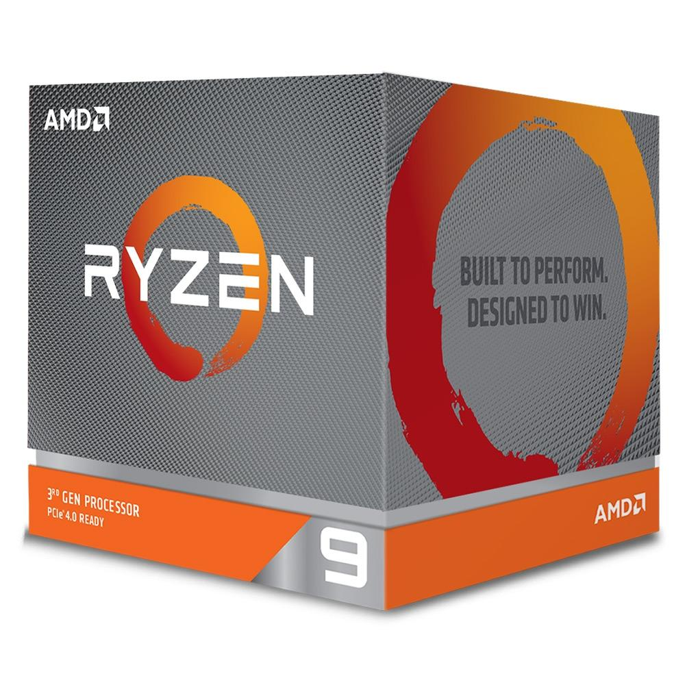 Processador Ryzen 9 3900X Cache 70MB 3.8GHz (4.6GHz Max Turbo) AM4, Sem Vídeo 100-100000023BOX - AMD