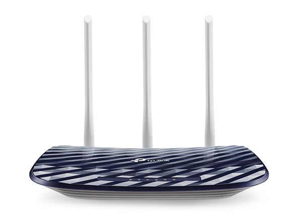 Roteador Wireless Dual Band AC750 Archer C20 v4 (com 03 Antenas) - TP-Link