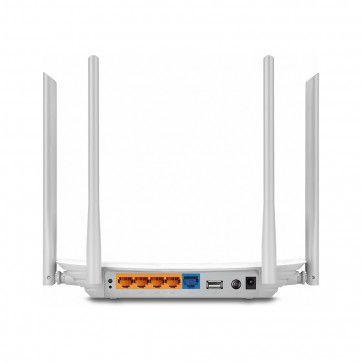 Roteador Wireless Wi-Fi Wisp Preset Dual Band 2,4/5Ghz USB AC1200 Archer C5W V4 - Tplink