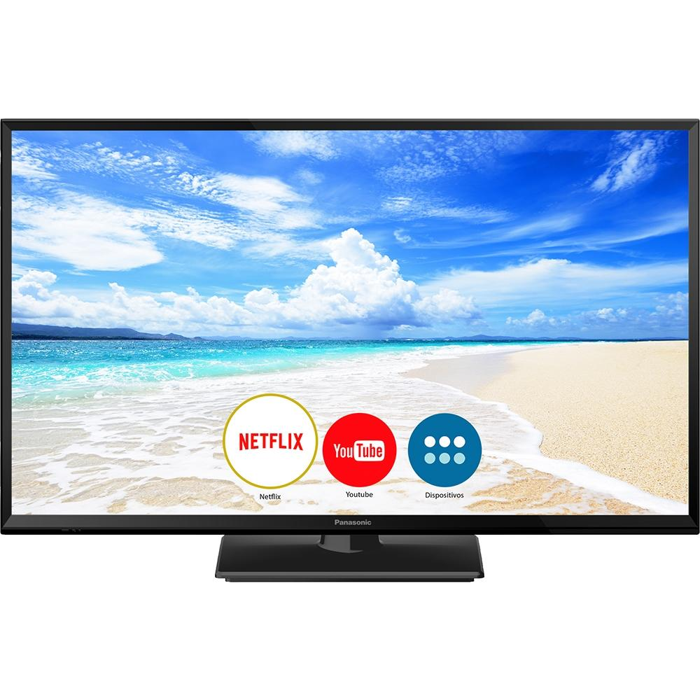 Smart TV LED HD 32, 2 HDMI, 1 USB, Wi-Fi, Bluetooth TC-32FS600B - Panasonic