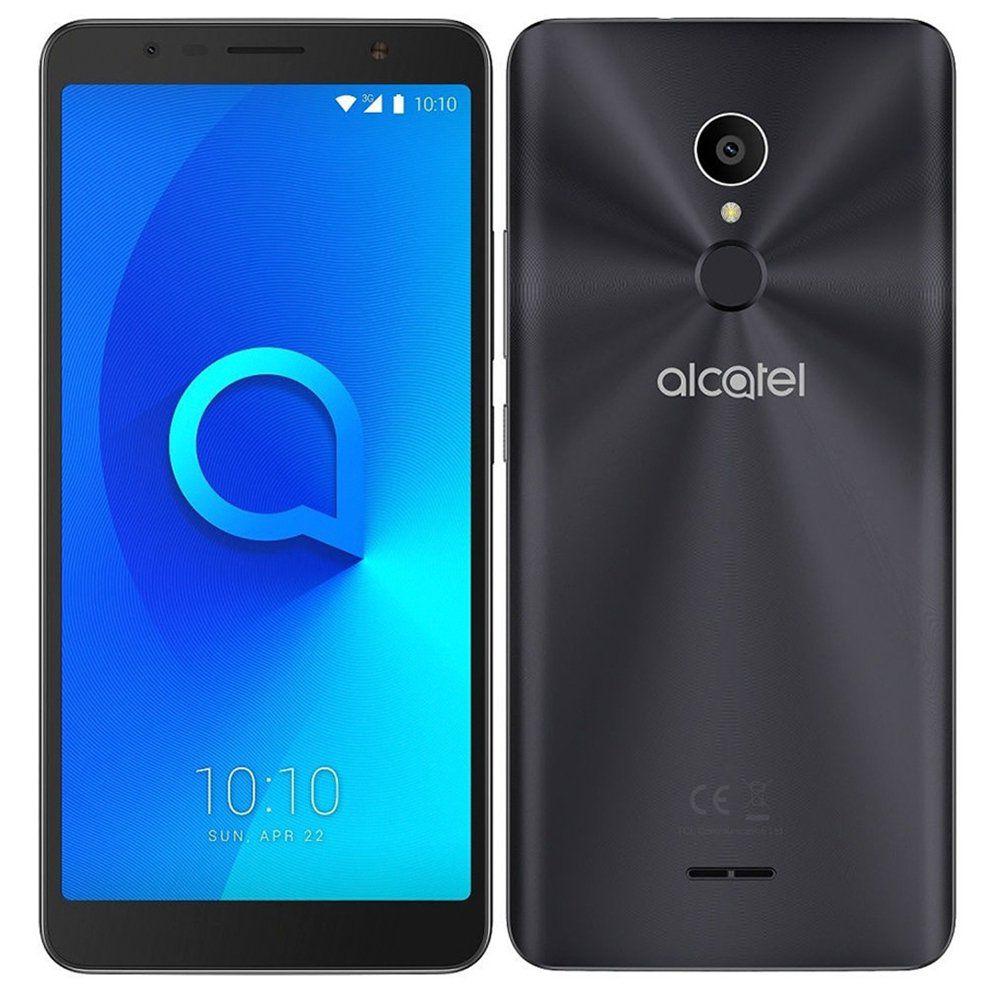 Smartphone 3C 5026J, Quad Core, Android 7.0, Tela 6, 13MP, 16GB, 3G, Dual Chip Preto - Alcatel
