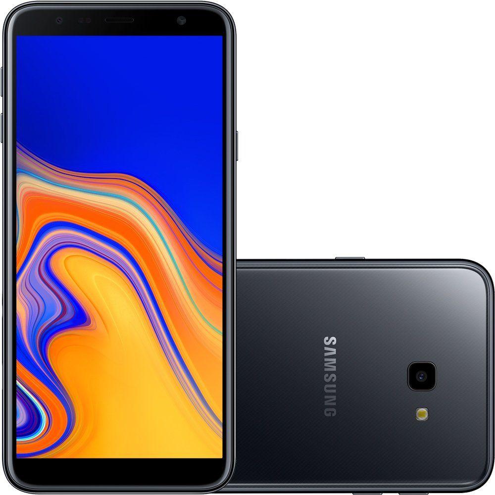 Smartphone Galaxy J4+ SM-J415G, Quad-Core, Android 8.1, Tela 6, 32GB, 13MP, 4G, Dual Chip Preto - Samsung