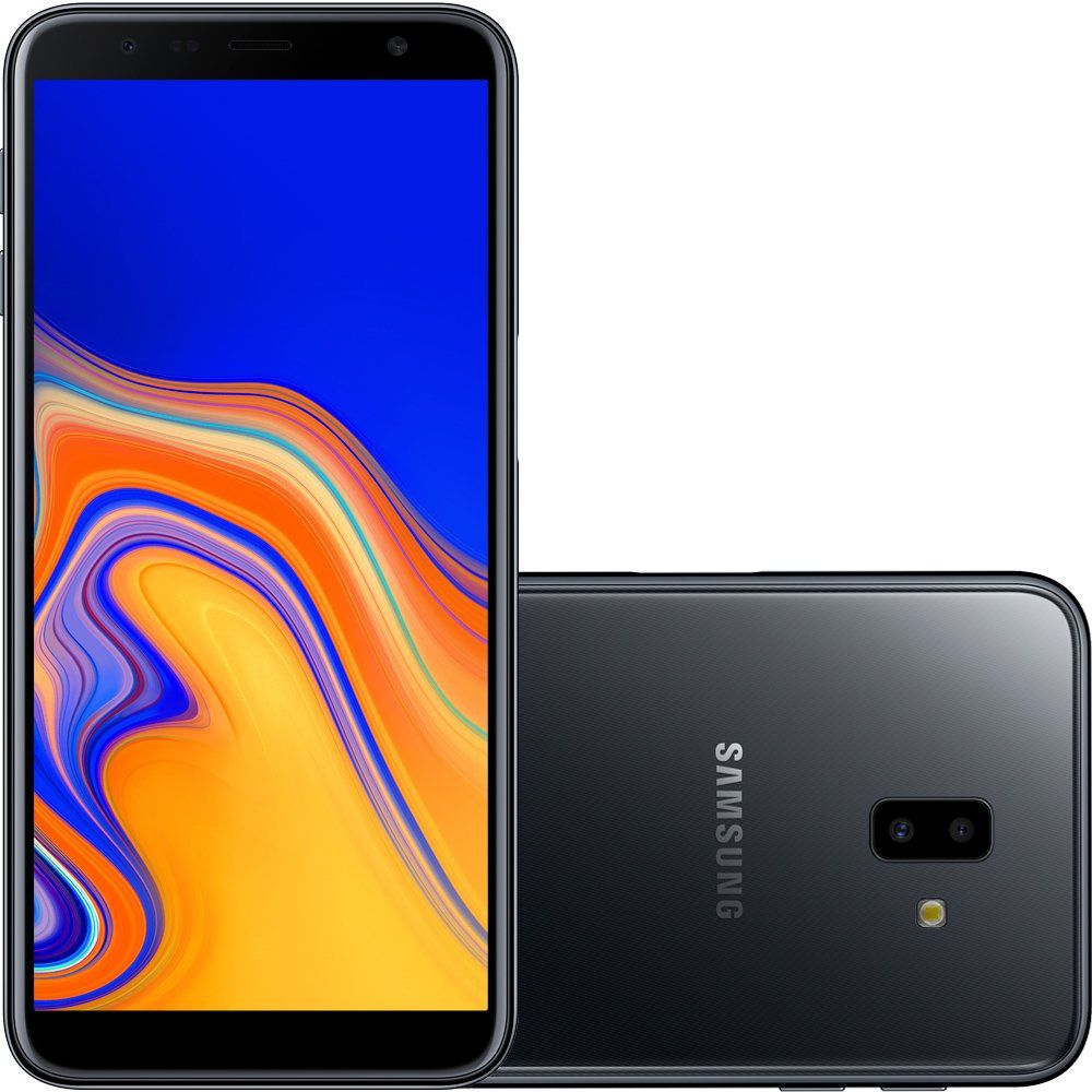 Smartphone Galaxy J6+ SM-J610G/32DL, Quad-Core, Android 8.1, Tela 6, 32GB, 13+5MP, 4G, Dual Chip Preto - Samsung