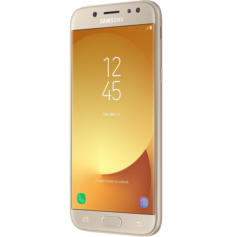 Smartphone Galaxy J7 Neo SM-J701M, Octa Core, Android 7.0, Tela 5.5, 16GB, 13MP, Frontal 5MP com flash,Dual Chip, Dourado - Samsung